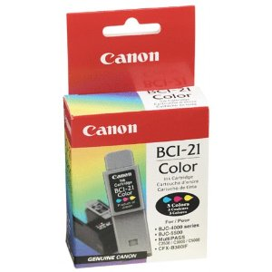 Ink jet Canon BCI-21 color