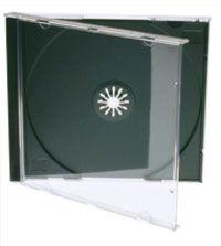Kutija za CD 1/2 Jewel crna