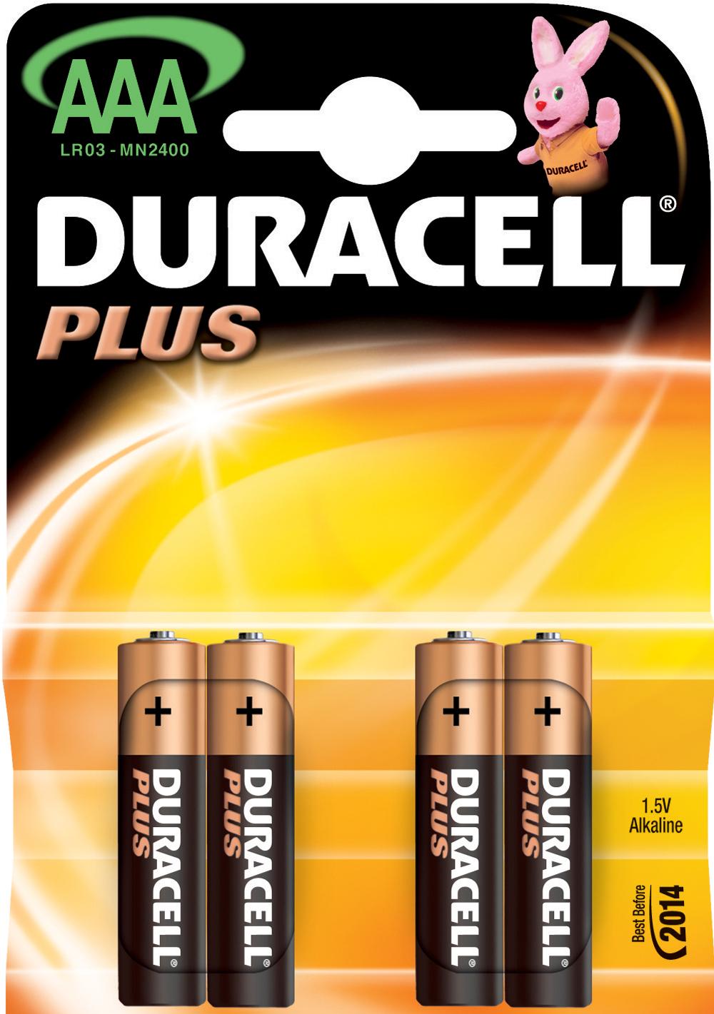 Baterije Duracell 1.5V LR03AAA PLUS