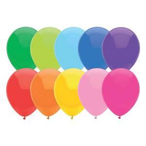 Baloni Haza 30cm sort 20/1 442116