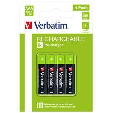 Baterije verbatim AAA punjive 1.2V 950mAh 4PK/HR03