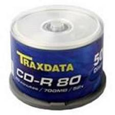 CD-R TRAXDATA 52x, 700MB, spindle 50 kom