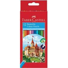 Drvene pastele FABER CASTELL 12/1  120112LE