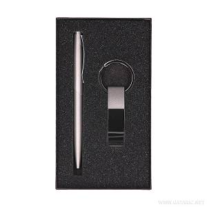Garnitura Bolero kemijska olovka + privjesak crna