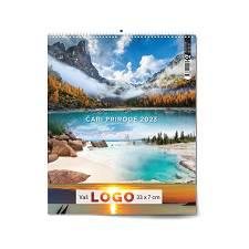 Kalendar 2022 ČARI PRIRODE 33x40 cm OG