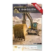 Kalendar 2022 GRADILIŠTE 30,5x50 cm OG