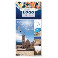 Kalendar 2022 TRODJELNI  Gradovi Hrvatske OG