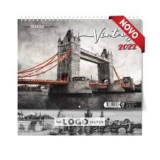 Kalendar 2022 VINTAGE GRADOVI 33x55cm OG