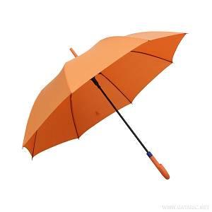 Kišobran PVC drška narančasti