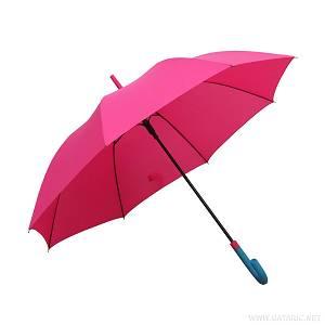 Kišobran PVC drška roza