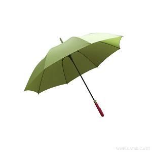 Kišobran PVC drška zeleni