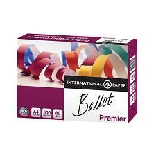 Papir A4 fotokopirni Ballet Premier 80g 500/1