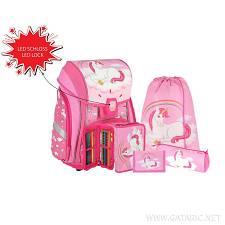 Školska torba SET 5/1 407934  MAGICAL 3D led lock