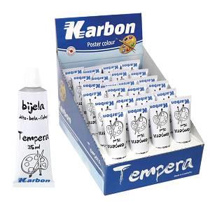 Tempera bijela Karbon 35ml