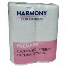 Toaletni ubrusi 2/1 23cm Harmony 2-slojni