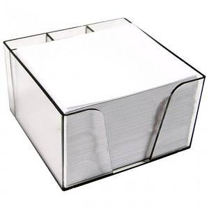 Uredska kocka s papirom