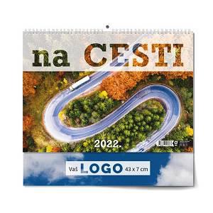 Kalendar 2022 NA CESTI 43x37,5 cm OG