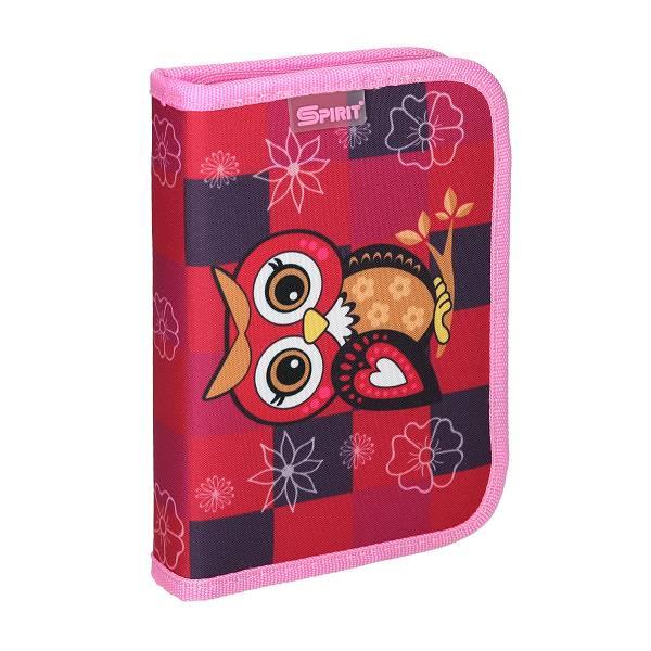 Pernica puna 406014 Owl red 1zipp